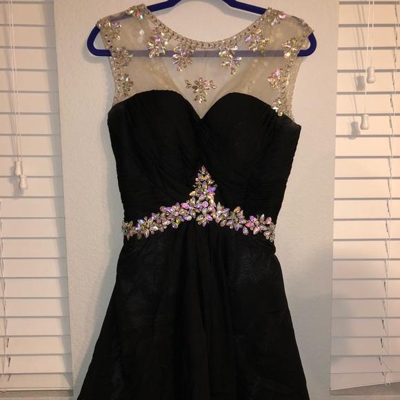 Dresses Short Black Prom Dress Poshmark